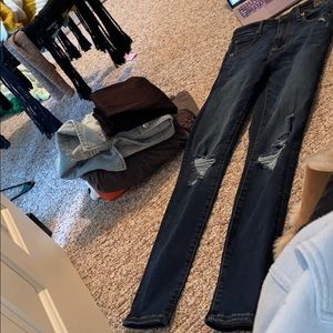 High waisted skinny jeans Abercrombie